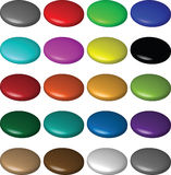 Buttons bubbles Royalty Free Stock Images