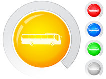 Buttons bus Stock Photos