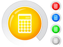 Buttons calculator Stock Image