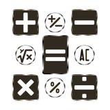Buttons calculator Stock Photo
