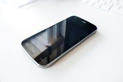 buttons celltelefonen Royaltyfri Bild