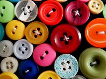 Buttons Close up and Colorful royalty free stock photo