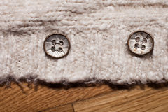 Buttons closeup Stock Photography