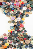 Buttons for clothes. Detail of some buttons for clothes Royalty Free Stock Image