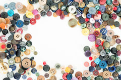 Buttons for clothes. Detail of some buttons for clothes Royalty Free Stock Photos