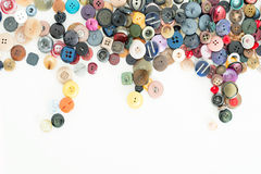 Buttons for clothes Royalty Free Stock Images