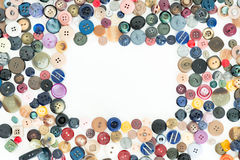 Buttons for clothes Stock Images