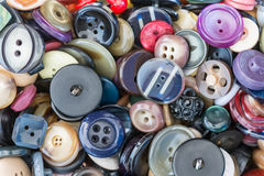Buttons for clothes Stock Photos