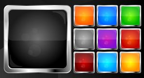 Buttons collection - eps 10 Royalty Free Stock Photography