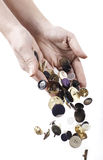 Buttons collection Royalty Free Stock Image