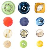 Buttons Collection Stock Images