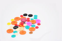Buttons Colorful Royalty Free Stock Photo