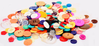 Buttons Colorful Royalty Free Stock Photos
