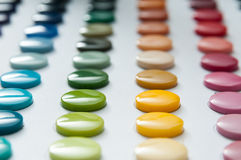 Buttons colors. Buttons color picker with all kinds of colors Royalty Free Stock Photography