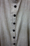 Buttons on cotton shirt Royalty Free Stock Photos