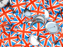 Buttons with England flag Royalty Free Stock Image