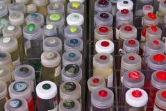 buttons färgglatt arkivbild