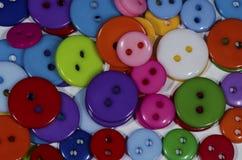 buttons färgrikt Royaltyfria Foton