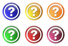 Buttons FAQ Royalty Free Stock Image