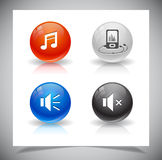 Buttons For Web. Stock Photos