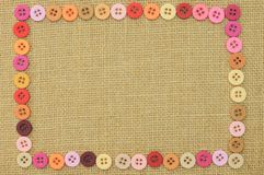 Buttons frame for background Royalty Free Stock Image