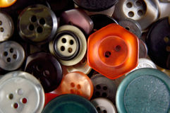 Buttons Galore Stock Photos