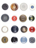buttons gammalt Royaltyfri Fotografi