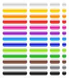 buttons glansig rengöringsduk Arkivfoton