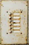 buttons grunge Arkivbild