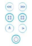 Buttons of hi-fi,  Stock Photos