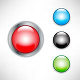 Buttons icons Royalty Free Stock Photo
