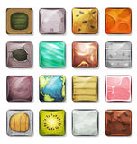 Buttons And Icons Set For Mobile App And Game Ui Royalty Free Stock Photos