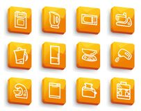 Kitchen home appliances Stock Image
