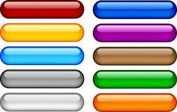 buttons internet Arkivfoton
