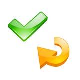 buttons internet refresh tag vector Стоковая Фотография