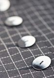 Buttons on jacket Stock Photos