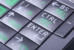 Buttons of keyboard Stock Image