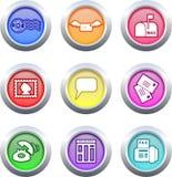 buttons kommunikation Royaltyfria Foton