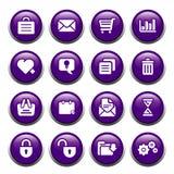 buttons kontoret Fotografering för Bildbyråer