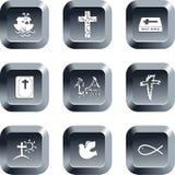 buttons kristen Fotografering för Bildbyråer