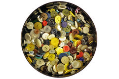 Buttons of many colors Royalty Free Stock Photo