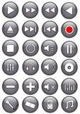 buttons medel Arkivfoto