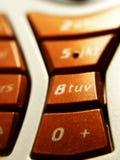buttons mobil Arkivfoton