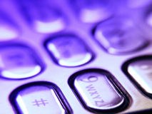 buttons mobil royaltyfri fotografi
