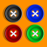 Buttons. Royalty Free Stock Image