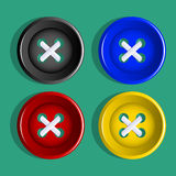 Buttons. Royalty Free Stock Photos