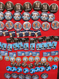 buttons obama Royaltyfria Bilder