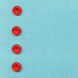 Buttons On Cloth Royalty Free Stock Photography