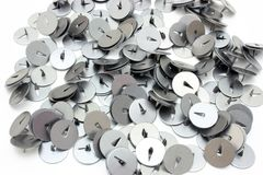Buttons for a paper Royalty Free Stock Images