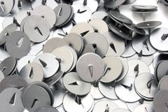 Buttons for a paper Royalty Free Stock Image
